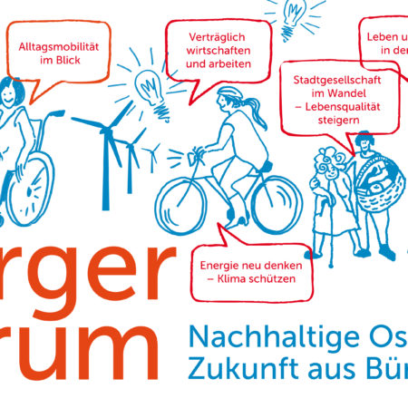 Online workshop: BürgerForum Sustainable Oststadt | Future in Citizen's hands