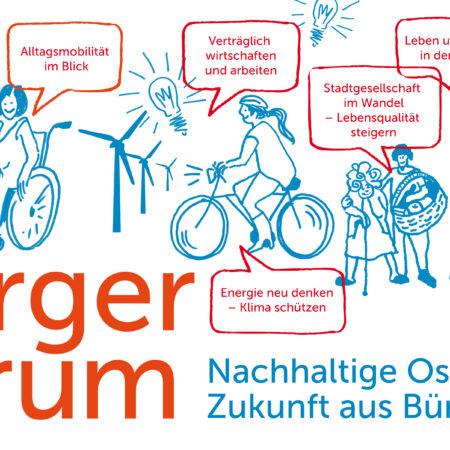 Onlinewerkstatt: BürgerForum Nachhaltige Oststadt | Zukunft aus Bürgerhand