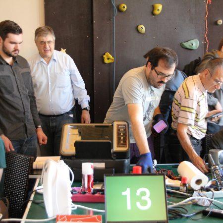 Fünftes ReparaturCafé in der Weststadt – Reparieren statt Wegwerfen