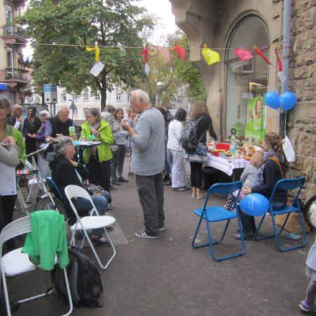 Oststadtpicknick bei KulturImFlur in der Georg Friedrich-Straße 32