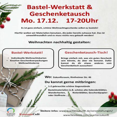 Bastel-Werkstatt & Geschenketausch