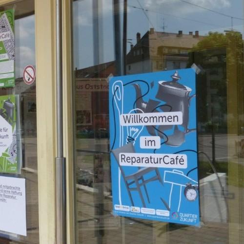 Herzlich Willkommen zum zweiten ReparaturCafé in Karlsruhe © KIT