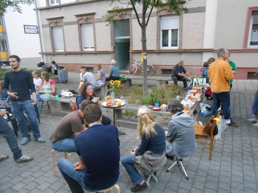 Quartier Zukunft OpenAir Stammtisch © KIT