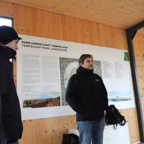 Im Dezember 2013 begab sich das Quartier Zukunft-Team auf eine Forschungsreise, um Inspirationen zu sammeln und sich zu vernetzen. Station war unter anderem das Tempelhofer Feld in Berlin.
