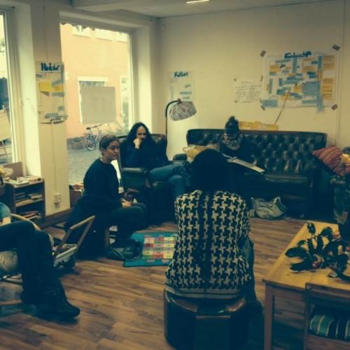 Einen weiteren Stopp machte das Quartier Zukunft-Team in Witzenhausen und kam mit der dort aktiven Transition Town-Initiative ins Gespräch.