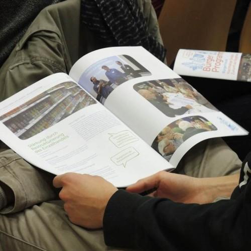 Die Vorschläge aus dem Bürgerprogramm fließen in das Reallabor 131 – KIT findet Stadt ein.