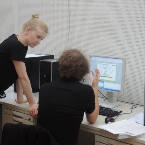 Das Quartier Zukunft Team befindet sich untereinander und mit anderen WissenschaftlerInnen am ITAS im engen Austausch. Verschiedene fachliche Sichtweisen bereichern so die Projektarbeit.