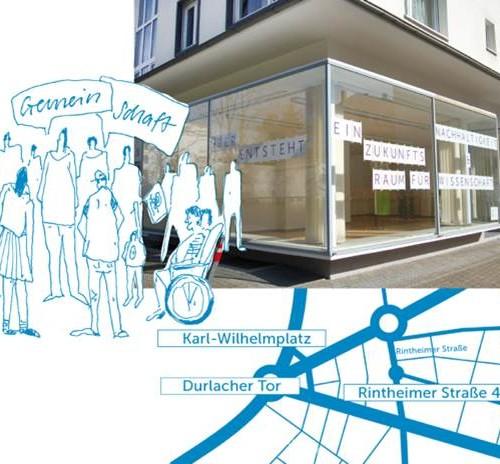 Im Sommer 2015 öffnet der Zukunftsraum in der Oststadt als gemeinsames Projekt von Quartier Zukunft und Reallabor 131. Er soll ein Quartierstreffpunkt und ein Ort für Forschung, Veranstaltungen und eine kreative Ideenschmiede für nachhaltige Entwicklung werden.