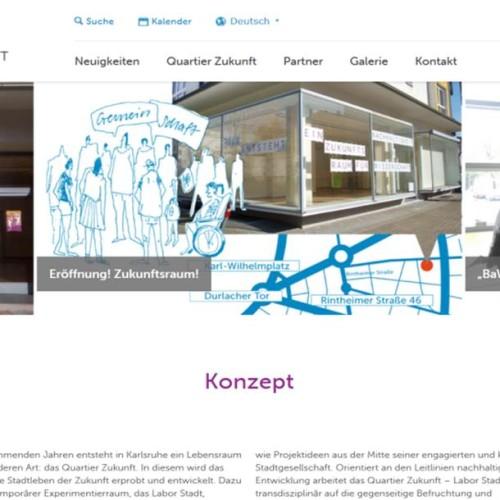 Mitte 2013 geht die Website online. Hier kann man sich fortan über das Projekt, aktuelle Arbeiten sowie vergangene und kommende Termine informieren.
