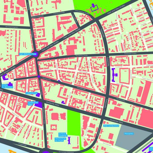 Mitte 2013 fällt die Entscheidung für das Quartier Zukunft-Projektgebiet auf die Karlsruher Oststadt. Insbesondere die Vielfalt der räumlich-funktionalen Strukturen und der Bewohnerschaft des Quartiers sowie die Nähe zum KIT sind ausschlaggebend für die Wahl.