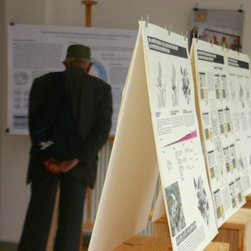Die Ausstellung im Zukunftsraum © Karlsruher Institut für Technologie