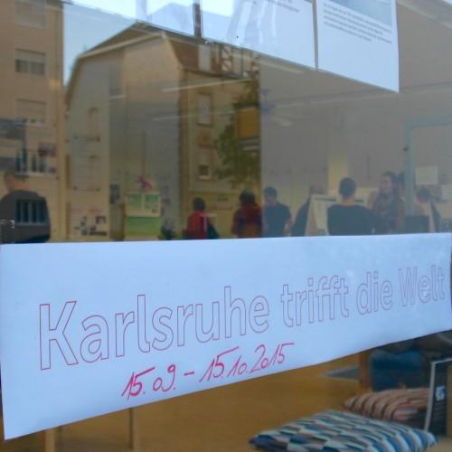 Die Ausstellung ist von Mitte September bis Mitte Oktober 2015 im Zukunftsraum zu sehen © Karlsruher Institut für Technologie